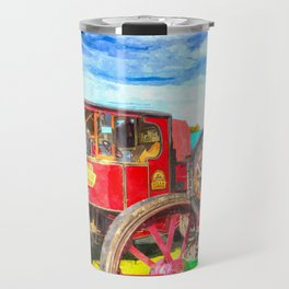 Traction Engine And Steam Lorry Art Travel Mug