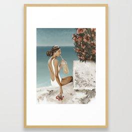Aranciata Framed Art Print