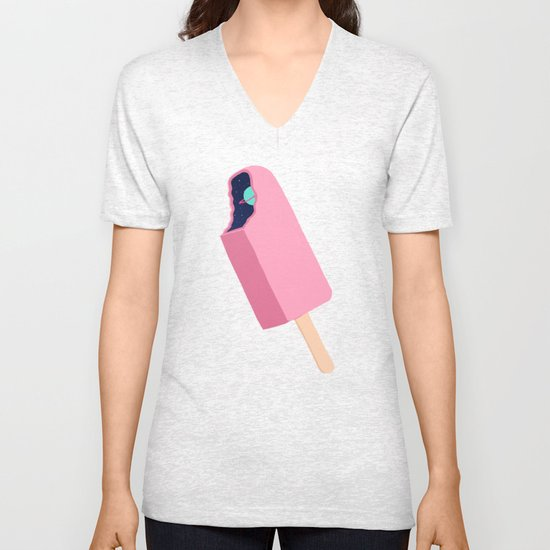 Creamsicle To Another Dimension...  Unisex V-Neck