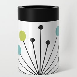 Atomic Age Nuclear Motif — Mid Century Modern Can Cooler