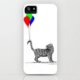 High-Tailing It iPhone Case
