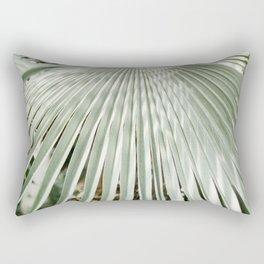 Botanical garden close up | Palm leaf detail | Fine art photography print Rectangular Pillow