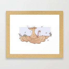 Dirty Possum Framed Art Print
