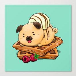 Puffles Canvas Print