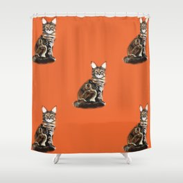 The Royal Safir Shower Curtain