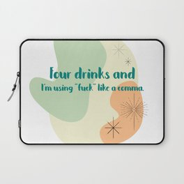 Forking commas Laptop Sleeve