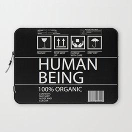 Human Food Laptop Sleeve