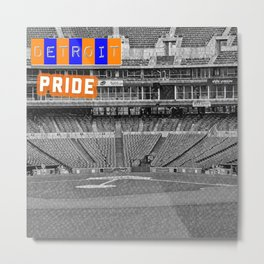 Baseball Pride Metal Print
