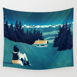 Magical Solitude Wall Tapestry