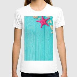 Starfish And Shells T-shirt