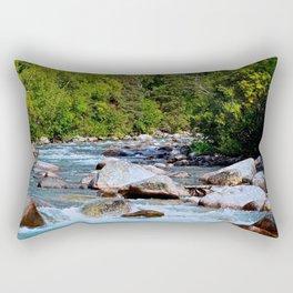 Mountain Stream - Alaska Rectangular Pillow