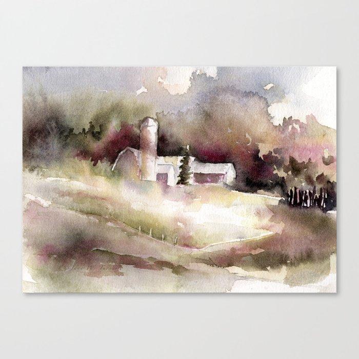 A Way of Life Canvas Print