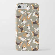 beagle scatter stone Slim Case iPhone 7