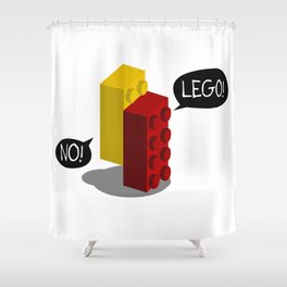 Emotionally Attached Shower Curtain