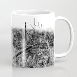 Black and White Fence Coffee Mug