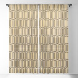 Retro 11 Sheer Curtain