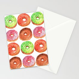 Donut Patrol Stationery Cards