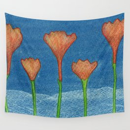 Flowers #7 Wall Tapestry
