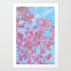 Bright and Happy Art Print