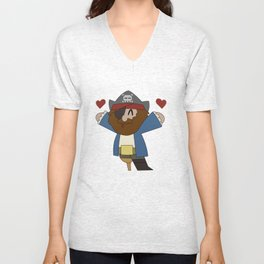 Pirate Love Unisex V-Neck