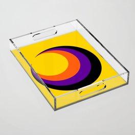 Psychedelic Sun Acrylic Tray