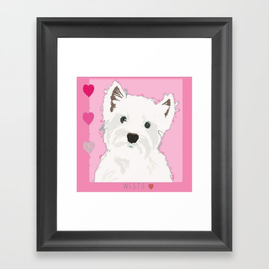 West Highland Terrier by floramoondesigns