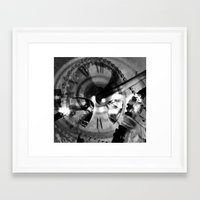imagerybydianna Framed Art Prints featuring Logos by Art by Mel