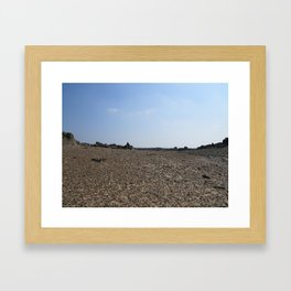 Alien Landscape Framed Art Print