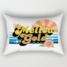 Mellow Gold Rectangular Pillow