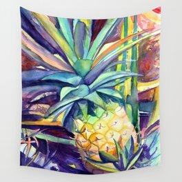 Kauai Pineapple 4 Wall Tapestry