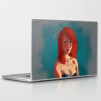 ariel Laptop & iPad Skins featuring Ariel by Fernanda Suarez