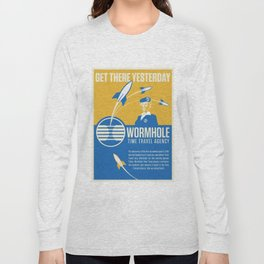 Time Travel Agency Long Sleeve T-shirt