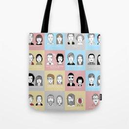 Sad Movie Couples Tote Bag