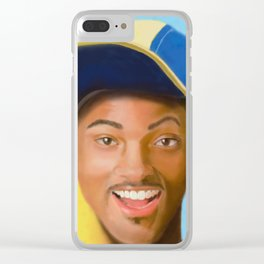 """Will of """"Bel-Air"""" Clear iPhone Case"""