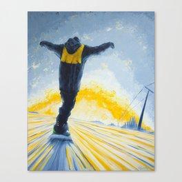 Salute The Sun Canvas Print