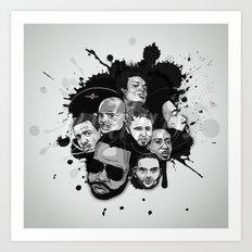 Undun Art Print