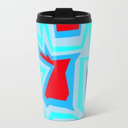 Ice Banded Red - Coral Reef Series Travel Mug