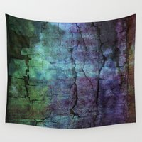 cracked Wall Tapestries featuring cracked Earth by helsch photography