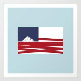 USA FALL Art Print