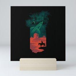 Final Frontiersman Mini Art Print