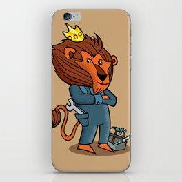 cartoon lion. iPhone Skin