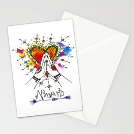 Heart Opening Namaste Stationery Cards