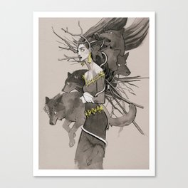 Forest call Canvas Print