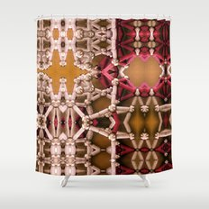 My unseen foreign tact. Shower Curtain