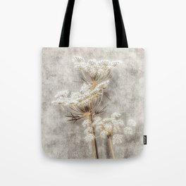 French Country Queen Anne's Lace Tote Bag