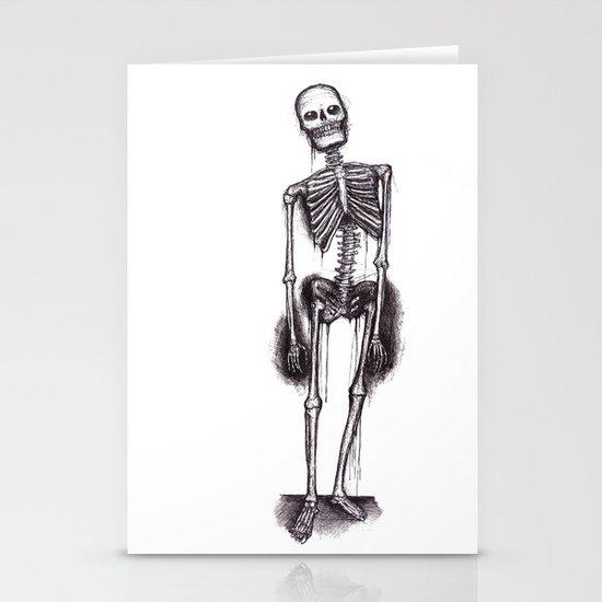 skeleton Stationery Cards