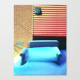 Life is a waiting room 1 Canvas Print