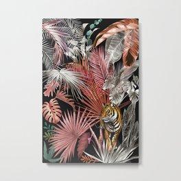 Jungle Tiger 02 Metal Print
