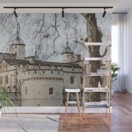Tower of London in Winter Wall Mural