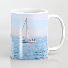 Blue Sailing Coffee Mug